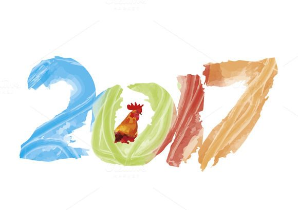 New 2017 - year of Fire Rooster @creativework247