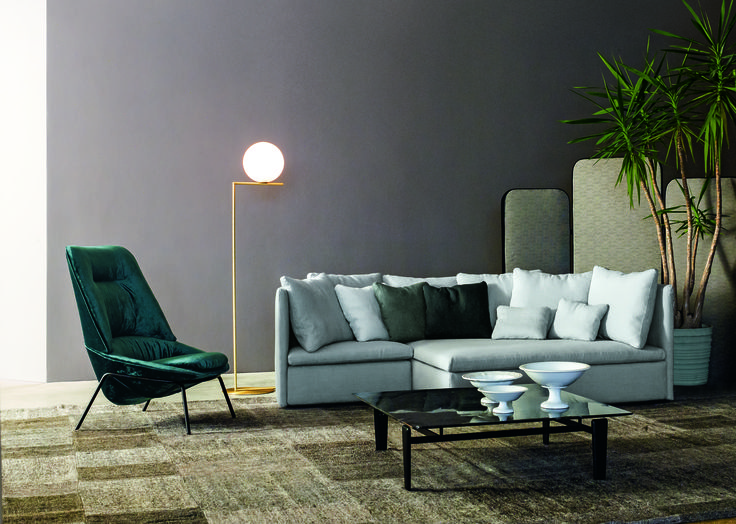Design gulvlampe ♦