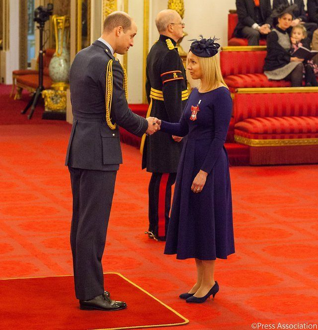 Deborah Brownson has dedicated her life to raising autism awareness, making a huge difference to the lives of families all over the world.  Today she was awarded an MBE from The Duke of Cambridge    2 March 2018