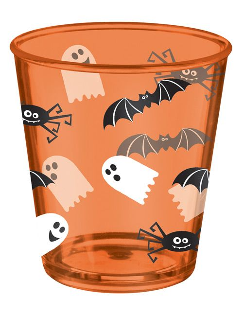 creepy critters plastikbecher orange halloween dekoration deko halloweenparty halloween party. Black Bedroom Furniture Sets. Home Design Ideas