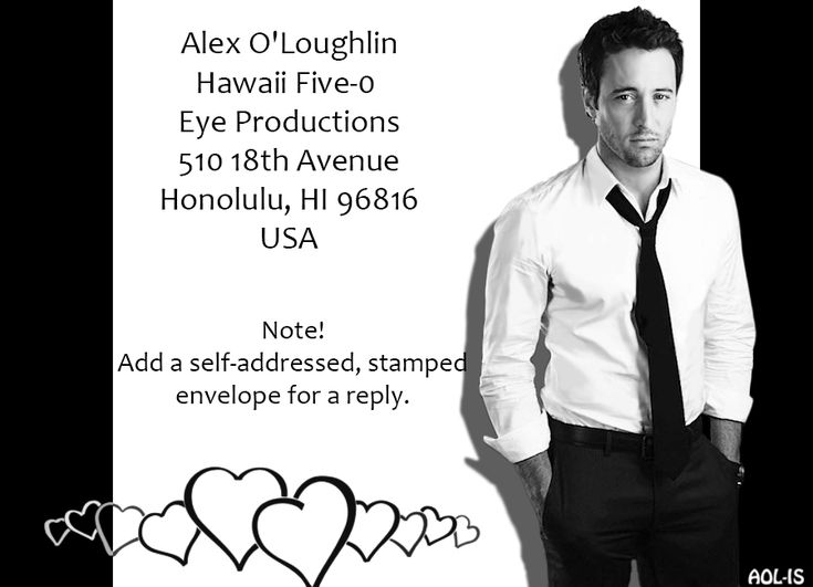 Life around #AlexOLoughlin – a week in review (23 – 29 August 2015) | Alex O´Loughlin ~ An Intense Study