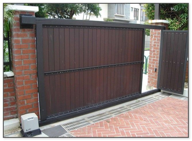 Sliding Gates For Houses Front Gate Design House Gate