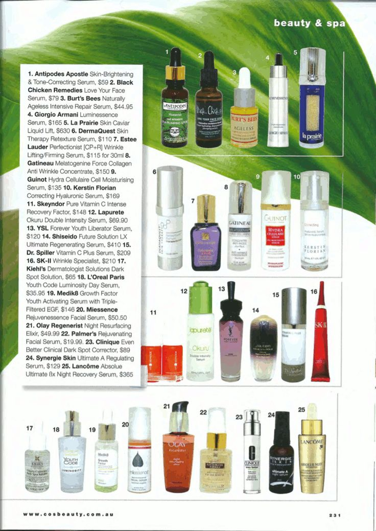 #Miessence Facial Serum was featured in the Cosmetic Surgery & Beauty Magazine.