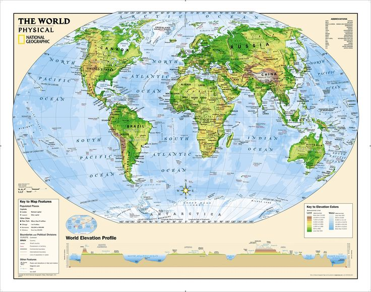 72 best national geographic maps images on pinterest national kids physical world education grades 4 12 wall map laminated national geographic publicscrutiny Images