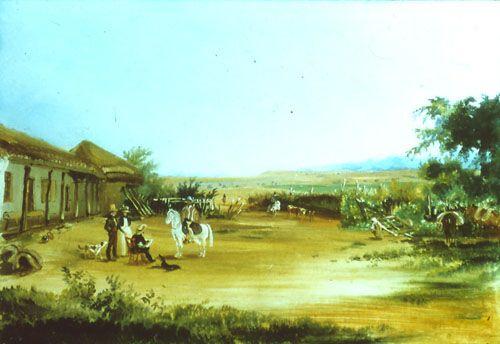HACIENDA LA HUERTA,  21 x 31 cm Colección Particula