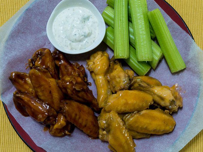 Crispy Baked Chicken Wings (Many Ways)
