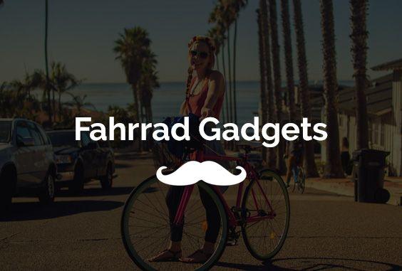 """Auf der Suche nach coolen Fahrrad-Gadgets? Hier findest du 12 praktische Gadgets für echte Fahrrad-Fans. Ausgewählte Produkte im coolen Design, die euer Smartphone mit eurem Rad vernetzen, euch Sicherheit geben oder euer Bike vor Diebstahl schützen. Clevere Ideen die euch Fahrradliebhabern das Gefühl geben: """"Das will ich haben!"""""""
