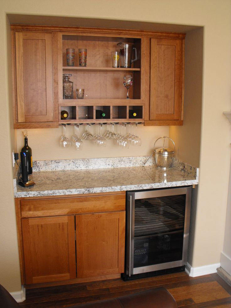 Perfect Wet Bar Set Up For My Basement Want To Use A