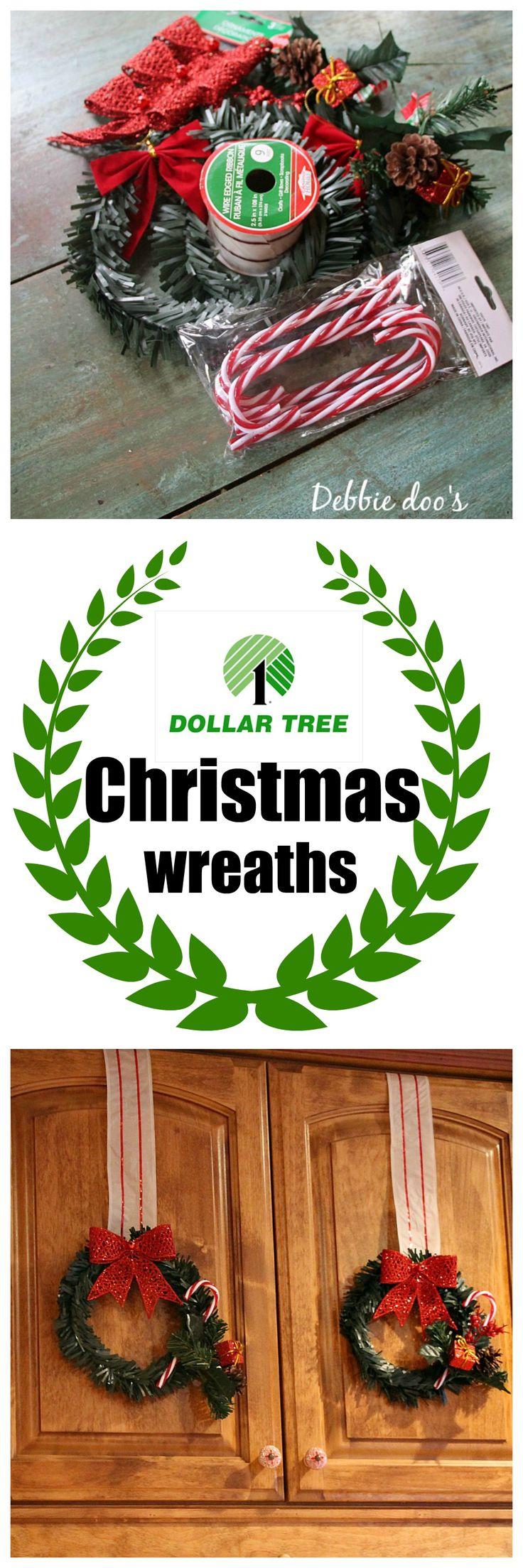 Dollar tree Christmas craft and decor ideas Trees