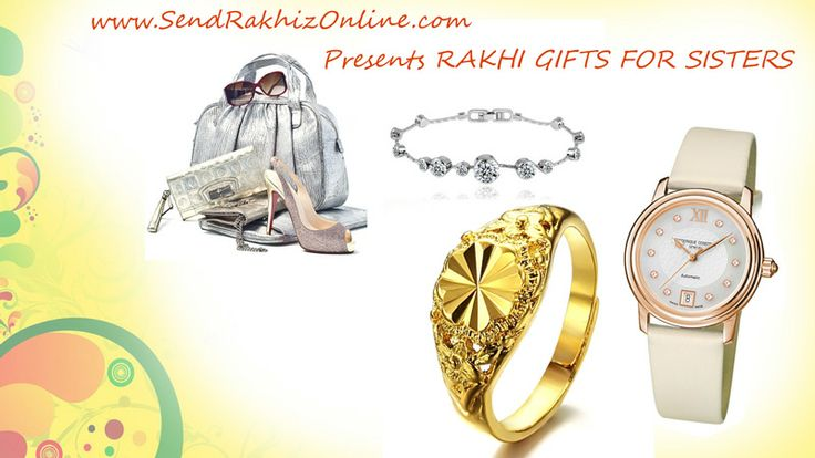 Send Rakhi Gifts for Sisters - http://www.sendrakhizonline.com/return-rakhi-gifts-for-sisters.html presents gorgeous collection of Gifts for sister which you can send as return Rakhi Gift for sister on this Raksha Bandhan.