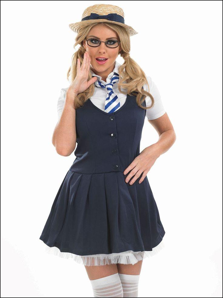 School Girl Fancy Dress Makeup