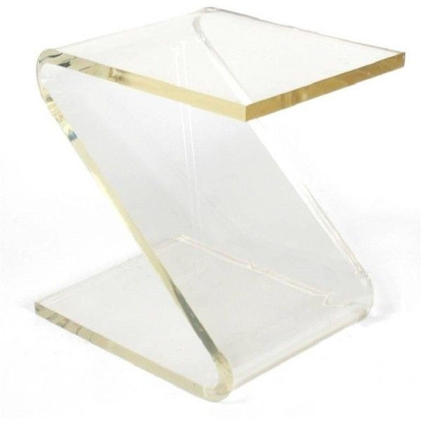 plexiglass furniture. Affordable View This Item And Discover Similar Side Tables For Sale At A Delightful Occasional Table Made Of Semiopaque Lucite In The Shape Letter Plexiglass Furniture