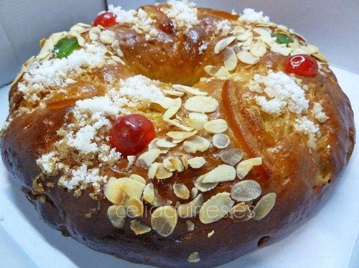 """CELIAQUINES - Recetas de una mami """"gluten free"""": Mi Roscón de Reyes sin gluten V 2.0 (Enero 2015)... y preguntas frecuentes"""