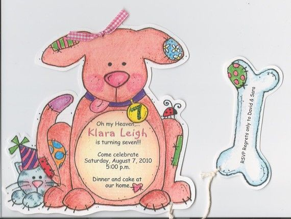 Personalized and Handcut Invitations  Birthday by sarajanestudio, $15.00
