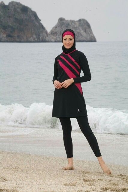"Let's swim ""Burkini"""