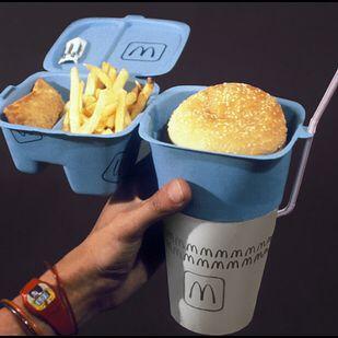 McDonald's Takeaway Packaging
