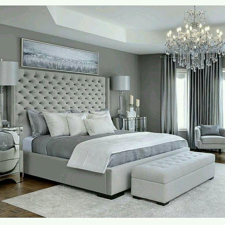 P I N T E R E S T Leyaah Grey Bedroom Design Simple Bedroom Design Master Bedrooms Decor