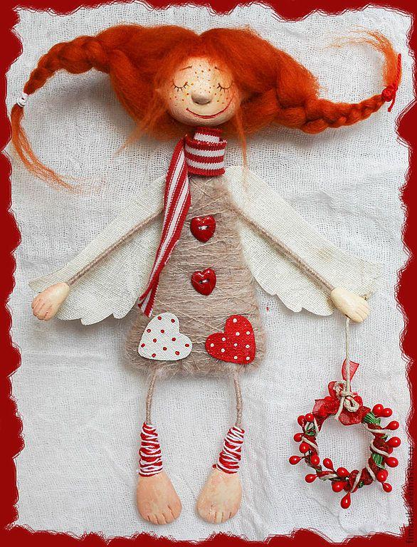 Купить Веруша - рыжий, душевные вещи, душевный подарок, феечка, рыжая девочка, Рыжая
