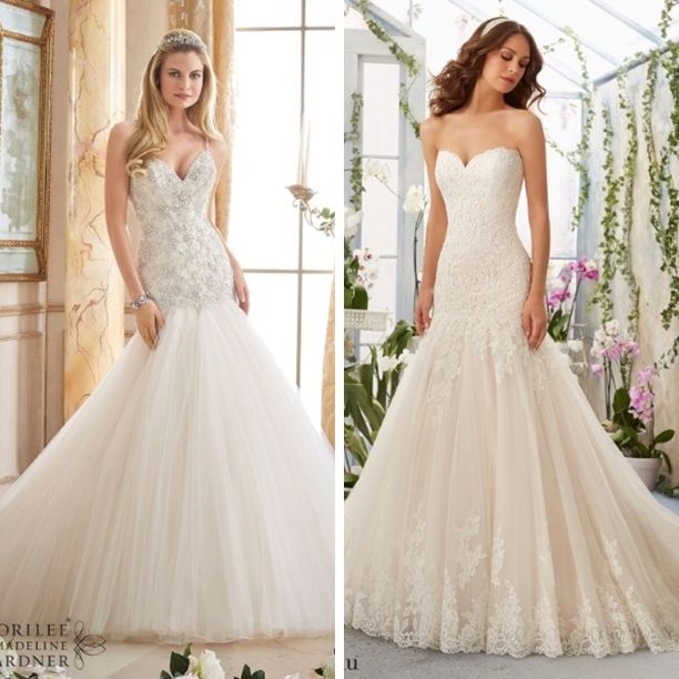 Do you want to be covered in sparkles or wrapped in lace? #eogowns #bridetobe #LNK #nebraska #wedding #love