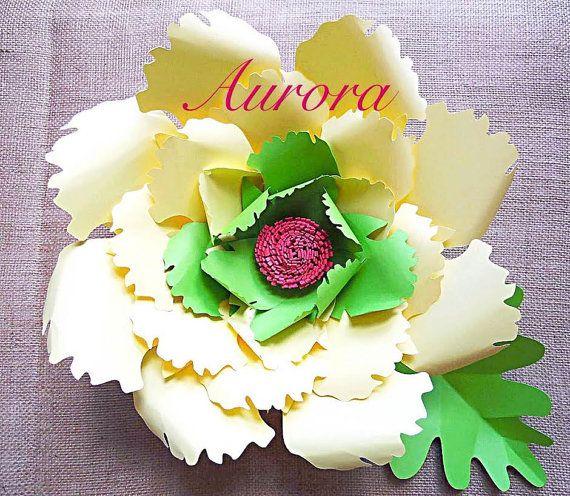 Fiore grande sfondo carta fiore SVG taglio modelli-SVG file-sfondo fiori-carta modello - sfondo di fiori matrimonio