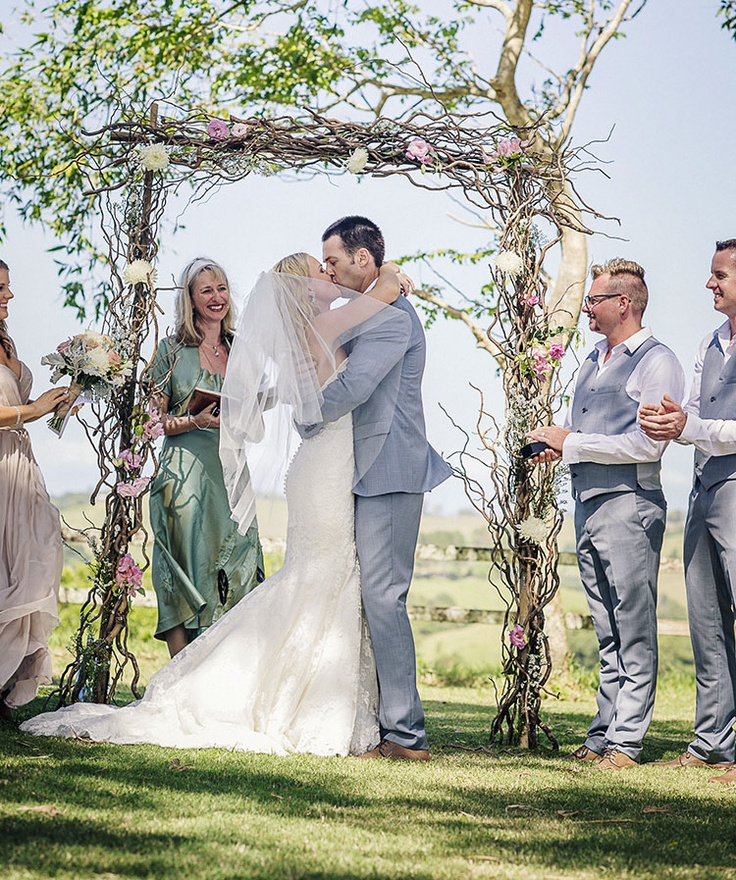 Bushturkey Studio - arbour by The French Petal. Wedding planner Jane Magnus