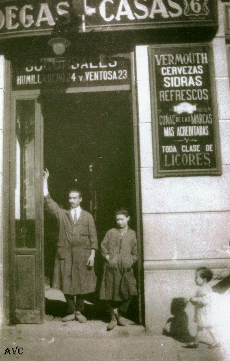 ANTIGUA TIENDA EN LA CARRERA DE SAN FRANCISCO - 1922