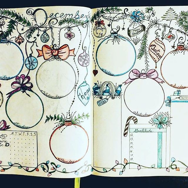 Oh my goodness! Look at the details in this gift tracker from @banjobaby83 ・・・ The colored version of next week! I used #prismacolorpencils for this #weeklyspread #bulletjournal #bulletjournaladdicts #bulletjournallove #bulletjournaling #bulletjournaljunkies #bulletjournalcommunity #bulletjournalweekly #weeklylayout #weeklyplanner #plannerpeace #planner #diyplanner #bujo #bujocommunity #bujojunkies #bujoweekly #bujolove #bujoaddict #bujoart #doodles #showmeyourplanner #zenofplanning