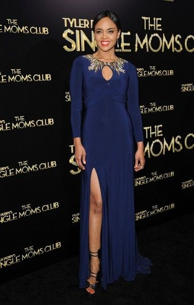 Sharon Leal at the 'The Single Mom's Club' Premiere