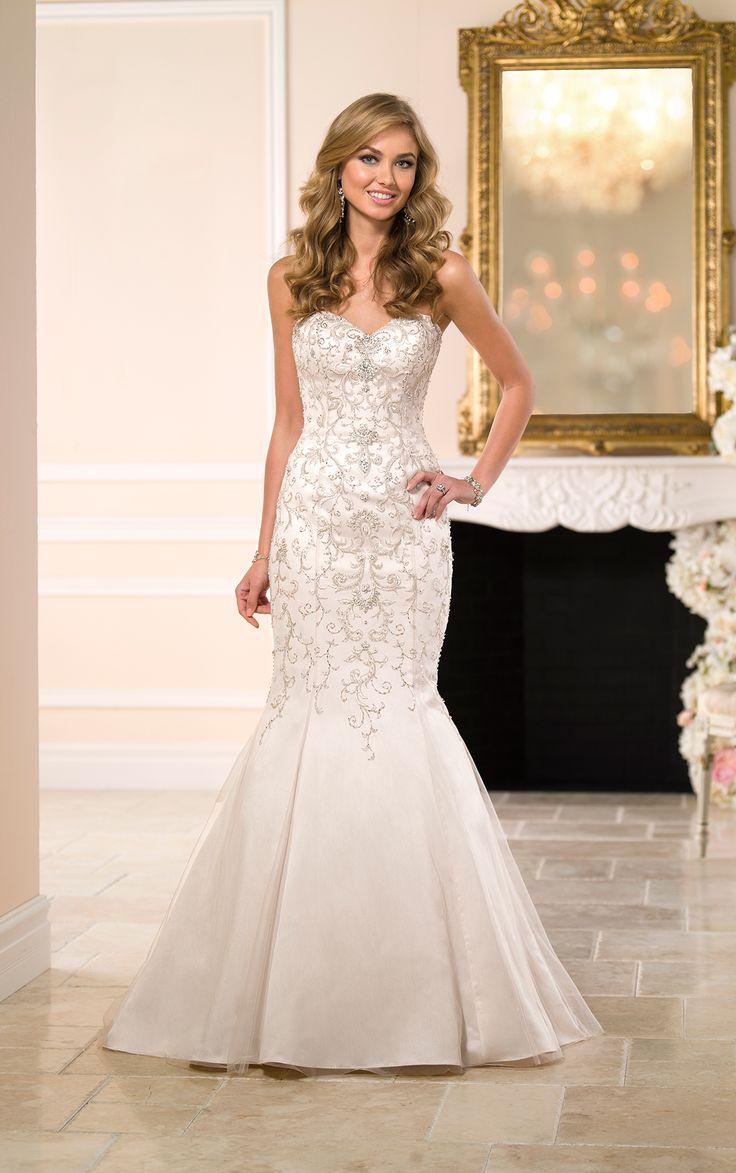 52 best Stella York images on Pinterest   Wedding frocks, Short ...