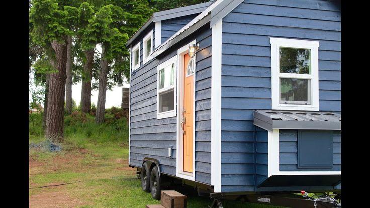 Craftsman tiny luxury house by Heirloom tiny homes company
