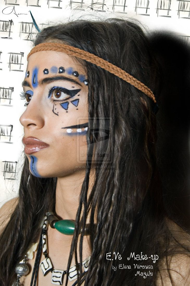 Warrior Princess Tribal Make-up by ~CPA-x-e-n-o-i on deviantART