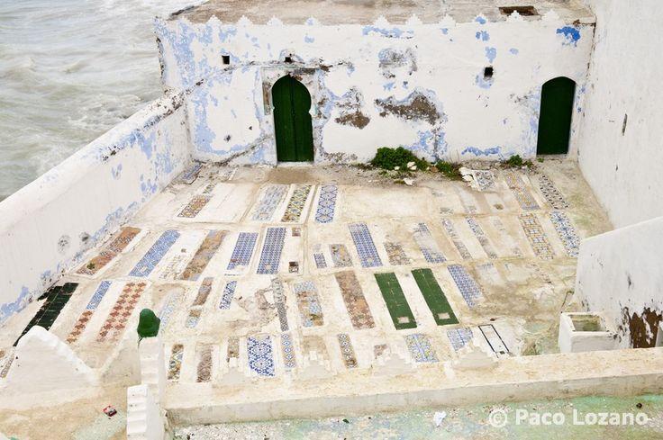 Muslim cemetery in Asilah
