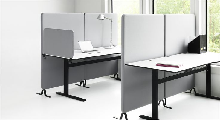 Softline acoustic desk screen, partition and room divider. Akustisk bord skærm, rumdeler og skille væg.