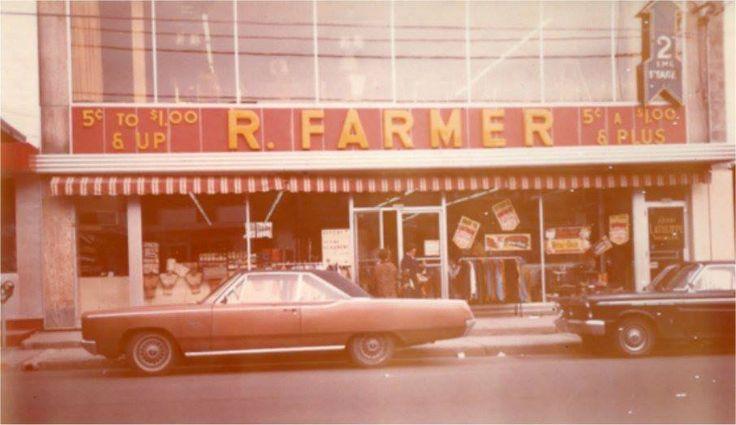 un des grand magasin de ma jeunesse le FARMER de beau souvenir
