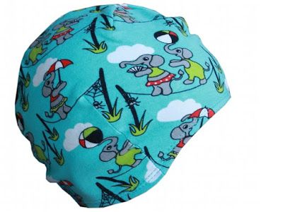 Free sewing tutorial and pattern toddler cap made from knits