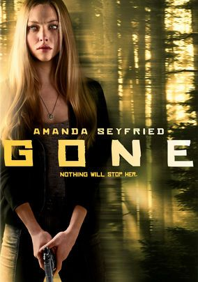 """Gone"" (dir. Heitor Dhalia, 2012) --- Returning from her night job, Jill (Amanda Seyfried) expects to find her sister Molly home in bed. When she doesn't, she knows just where to look: her own past abductor. But the police show little interest, so Jill sets off on her own to find her sibling in this chiller. MY RATING: 3/5 Stars"