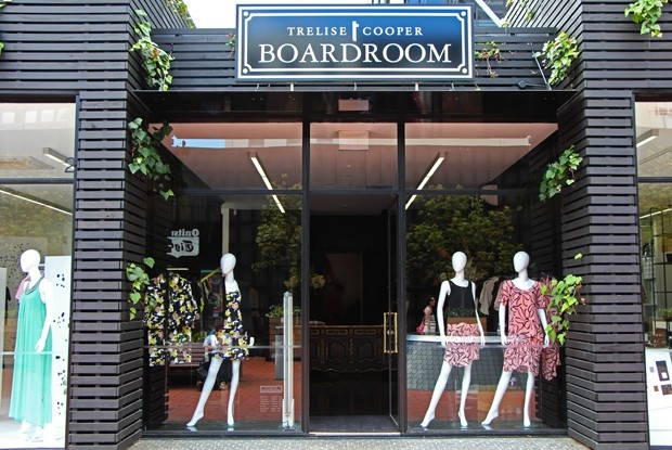 Trelise Cooper Boardroom designer fashion boutique, Britomart, Auckland City
