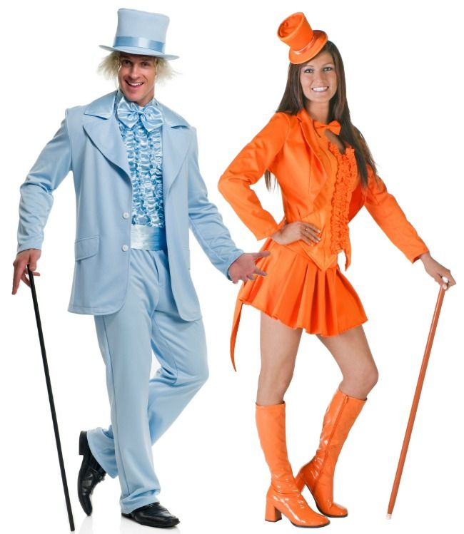 Creative spin on a Dumb and Dumber costume!