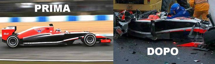 FORMULA 1 IL DRAMMA DI BIANCHI: L'incidente di Jules Bianchi al GP del Giappone deve far riflettere sull'attuale livello della sicurezza in Formula 1