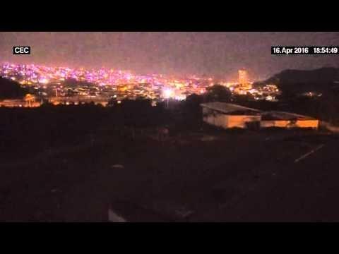 Luces de Terremoto - Ecuador - 16/Abril/2016