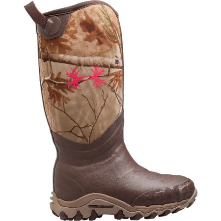 Under Armour Womens 800G Haw's Boot - Camo and Pink!