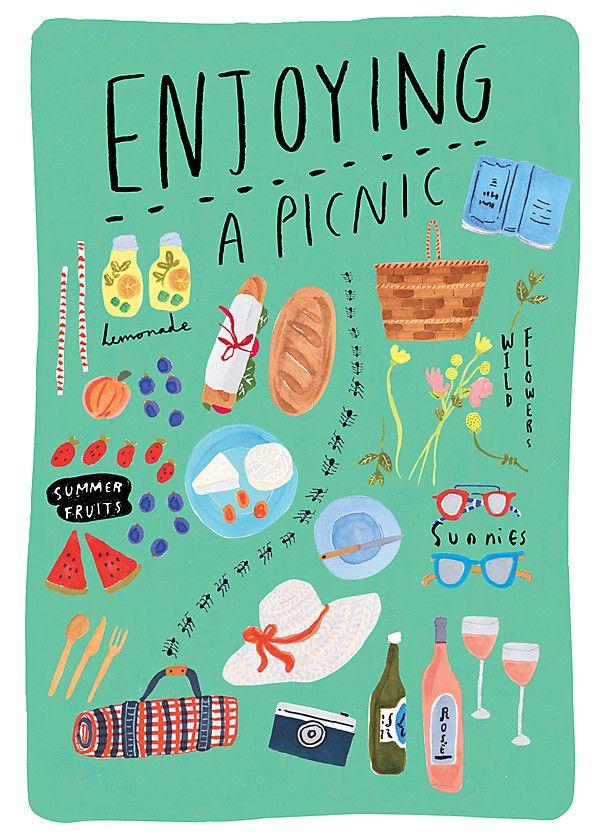 Illustrator Grace Lee packs the perfect picnic!