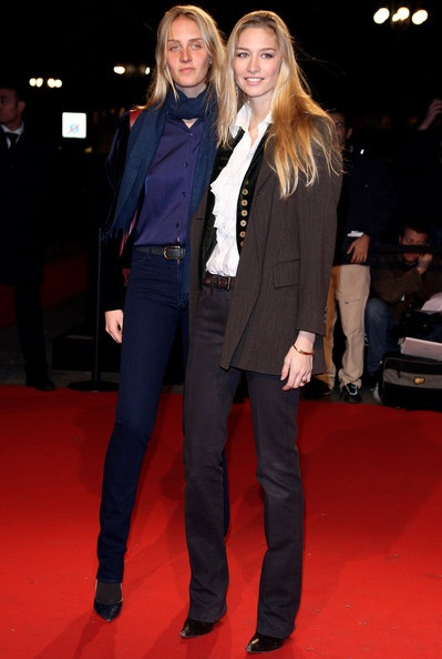 Matilde and Beatrice Borromeo
