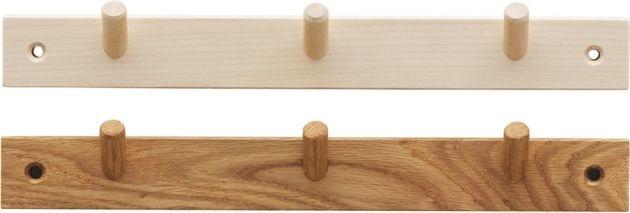 norrgavel - birch / oak hook strips