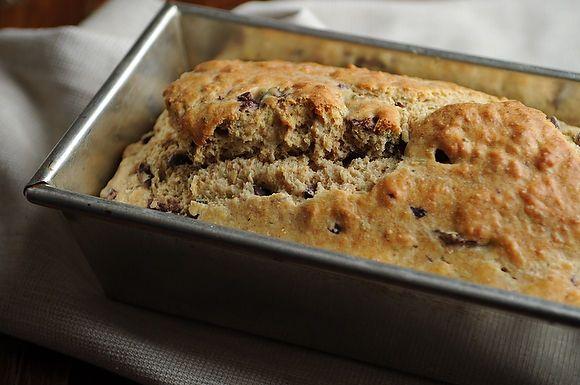 Mediterranean Olive Bread (no yeast)