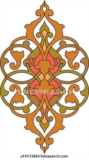 Arabesque Designs (page 3) - stock illustration clip art. Buy royalty free…