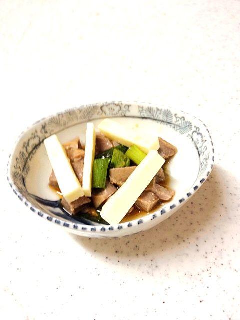 コリコリが嫌いだと言うから、ハムみたいに柔らかい部分だけにしたバージョン - 35件のもぐもぐ - 砂肝ポン酢スペシャル by SKA