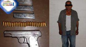 Por violación a la ley federal de armas de fuego es detenido por la Policía Estatal