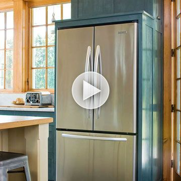 Learn how to make stainless steel appliances in your kitchen sparkle: http://www.bhg.com/videos/m/74499403/how-to-clean-stainless-steel.htm