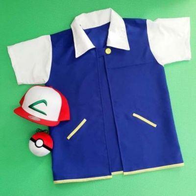 Fantasia Pokémon Ash, produtos com ótimos preços, linda fantasia Ash pokemon, não fique de fora dessa aventura e torne se um treinador de pokemon.